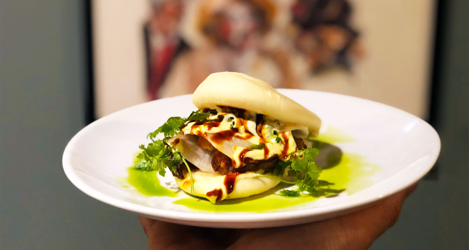 Steamed Bun at Perbacco Italian Restaurant London