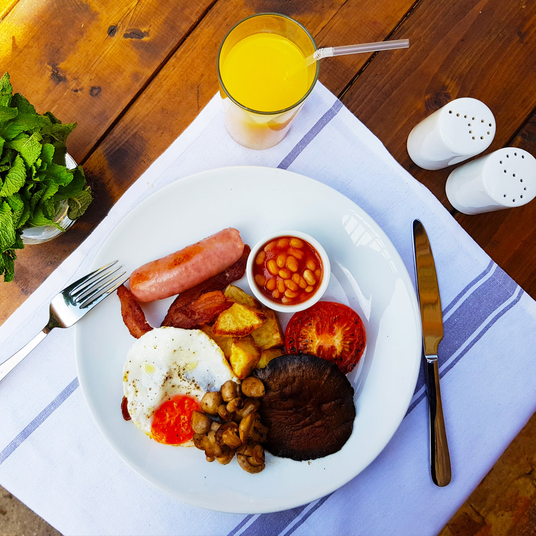 PerBacco Italian Restaurant London - English Breakfast - Breakfast & Brunch
